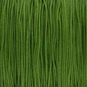 Satinband (100cm), 0,8mm breit, rund, oliv grün oliv grün