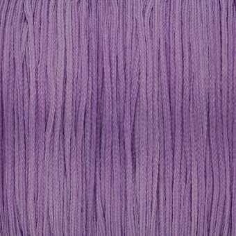 Satinband (100cm), 0,8mm breit, rund, violett violett