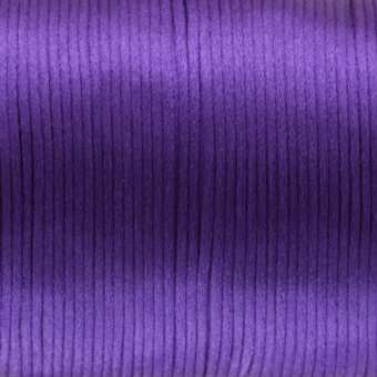 Satinband, 100cm, 2,5mm breit, dunkelviolett dunkelviolett