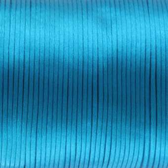 Satinband, 100cm, 2,5mm breit, dunkeltürkis dunkeltürkis