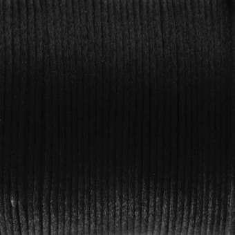 Satinband, 100cm, 2mm breit, schwarz schwarz