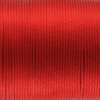 Satinband, 100cm, 2,5mm breit, rot rot