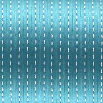 Satinband mit Streifen, 100cm, 6mm breit, verschiedene Farben