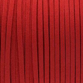 Schmuckband in Wildlederoptik (100cm), 3mm breit, verschiedene Farben