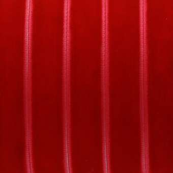 Samtband, 100cm, 12mm breit, rot rot