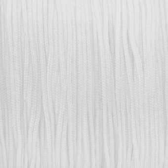 Satinband (100cm), 1mm breit, weiß weiß