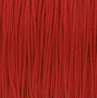 Satinband (100cm), 1mm breit, rot rot