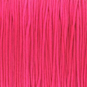 Satinband (100cm), 1mm breit, neonpink neonpink