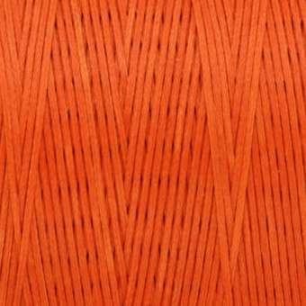 Gewachstes Band in Baumwolloptik (100cm), 1mm X 0,4mm breit, orange orange