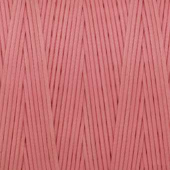 Gewachstes Band in Baumwolloptik (100cm), 1mm X 0,4mm breit, rosa rosa