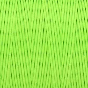 Gewachstes Band in Baumwolloptik (100cm), 1mm X 0,4mm breit, neongrün neongrün