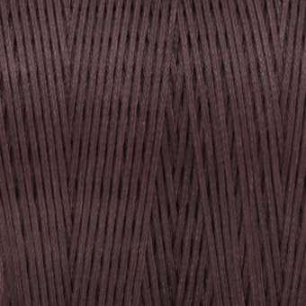 Gewachstes Band in Baumwolloptik (100cm), 1mm X 0,4mm breit, dunkelbraun dunkelbraun