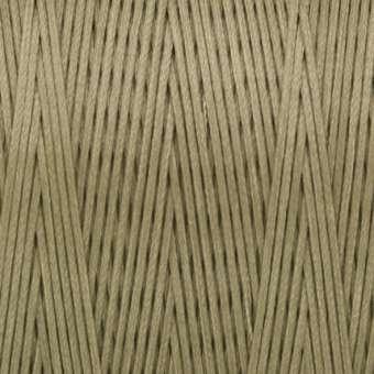 Gewachstes Band in Baumwolloptik (100cm), 1mm X 0,4mm breit, sand sand