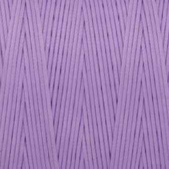 Gewachstes Band in Baumwolloptik (100cm), 1mm X 0,4mm breit, hellviolett hellviolett