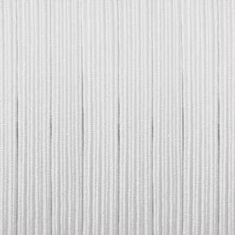 elastisches Band (50cm), 6mm breit X 1mm dick, weiß weiß