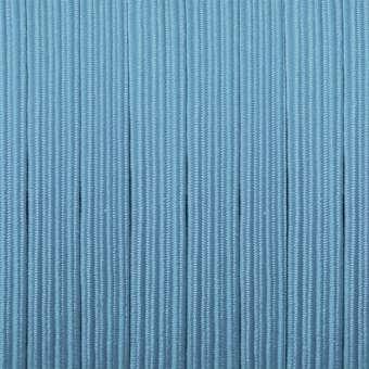 elastisches Band (50cm), 6mm breit X 1mm dick, hellblau hellblau
