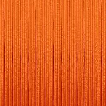 elastisches Band (50cm), 3mm breit X 1mm dick, orange orange
