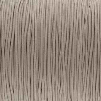 elastisches Band (50cm), 1,5mm, rund, sand sand