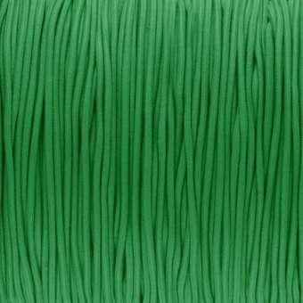 elastisches Band (50cm), 1,5mm, rund, grasgrün grasgrün