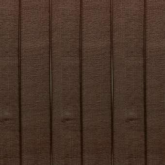 Organzaband, 100cm, 7mm breit, dunkelbraun dunkelbraun