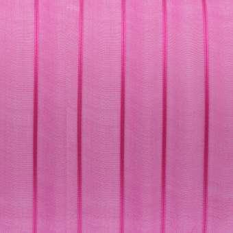 Organzaband, 100cm, 7mm breit, dunkelpink dunkelpink
