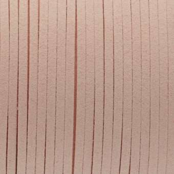 Schmuckband in Wildlederoptik (100cm), 3mm breit, rosa rosa