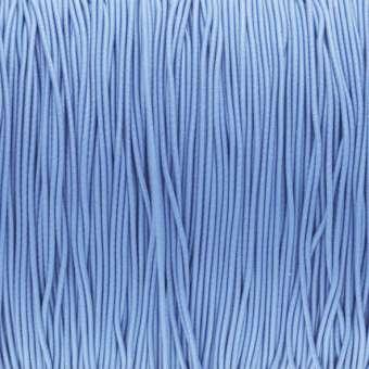 elastisches Band (50cm), 1mm, rund, hellblau hellblau