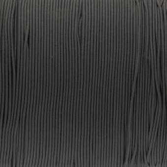 elastisches Band (50cm), 1mm, rund, dunkelgrau dunkelgrau