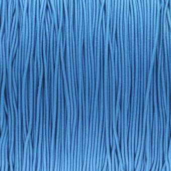 elastisches Band (50cm), 1mm, rund, blau blau