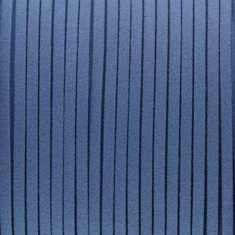 Schmuckband in Wildlederoptik (100cm), 3mm breit, blau blau