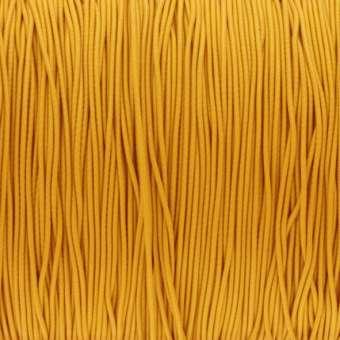elastisches Band (50cm), 1mm breit, rund, sonnengelb sonnengelb