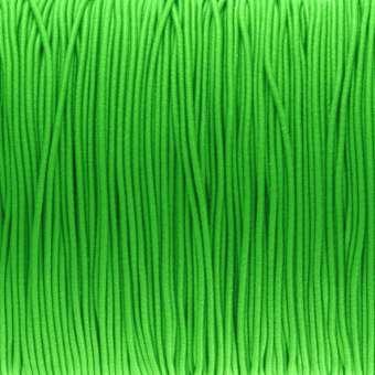 elastisches Band (50cm), 1mm breit, rund, grün grün