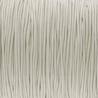 elastisches Band (50cm), 1mm, rund, natur natur