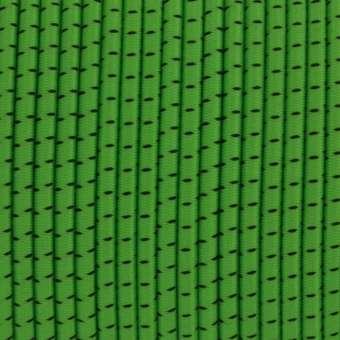 elastisches Band (50cm), 3,2mm breit, rund, gras grün gras grün