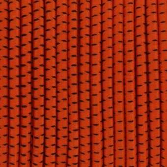 elastisches Band (50cm), 3,2mm breit, rund, orange orange