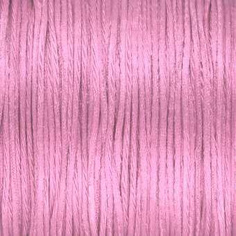 Satinschnur, 100cm, 1,6mm breit, rosa rosa