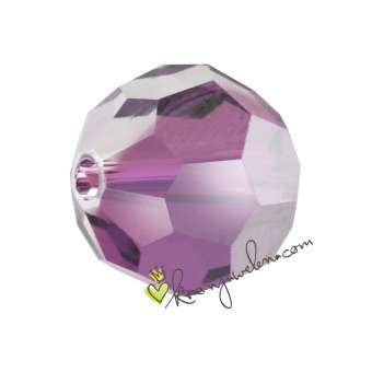Swarovski (5000), 8mm,  Crystal Antique Pink (001 ANTP) 001 ANTP Crystal Antique Pink