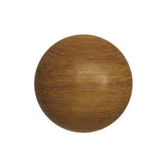 Cabochon (Madre De Cacau Holz), Ø 14 mm, braun Madre De Cacau 14 mm