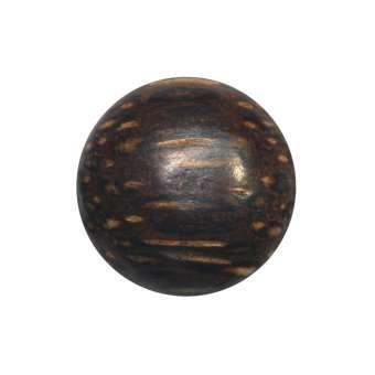 Cabochon (Palmenholz), Ø 14 mm, braun Palmenholz 14 mm