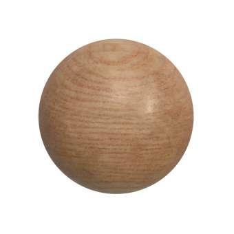 Cabochon (Rosenholz), Ø 16 mm, hellbraun Rosenholz 16 mm