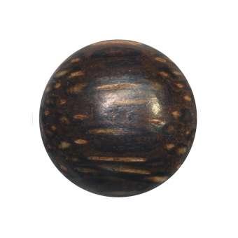 Cabochon (Palmenholz), Ø 16 mm, braun Palmenholz 16 mm
