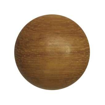 Cabochon (Madre De Cacau Holz), Ø 18 mm, braun Madre De Cacau 18 mm