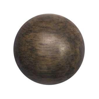 Cabochon (Greywood), Ø 18 mm, braun Greywood 18 mm