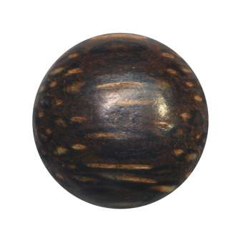 Cabochon (Palmenholz), Ø 18 mm, braun Palmenholz 18 mm