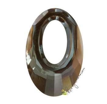 Swarovski Helios Pendant (6040), 20 mm, Crystal Bronze Shade (001 BRSH) 001 BRSH Crystal Bronze Shade