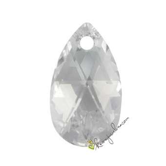 Swarovski Anhänger / Pendant  (6106), 16 mm, Crystal (001) 001 Crystal