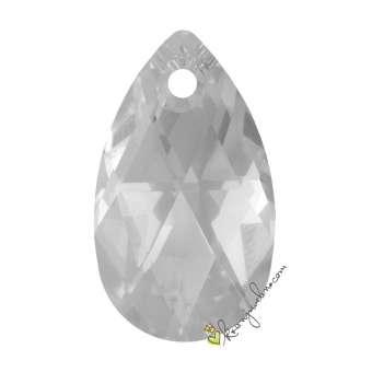 Swarovski Anhänger / Pendant  (6106), 22 mm, Crystal (001) 001 Crystal