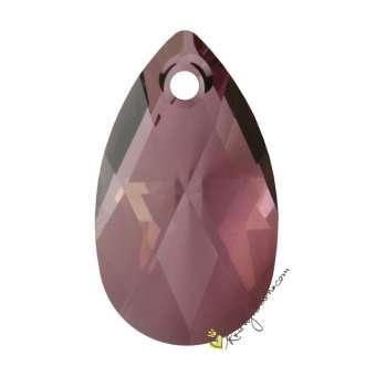 Swarovski Anhänger / Pendant  (6106), 22 mm, Crystal Antique Pink (001 ANTP) 001 ANTP Crystal Antique Pink