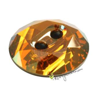 Swarovski Crystal Button (3014), 12mm, Crystal Copper (001 COP) Crystal Copper (001 COP)