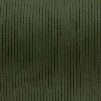 Gewachstes Baumwollband, 100cm, 2mm breit, khaki khaki
